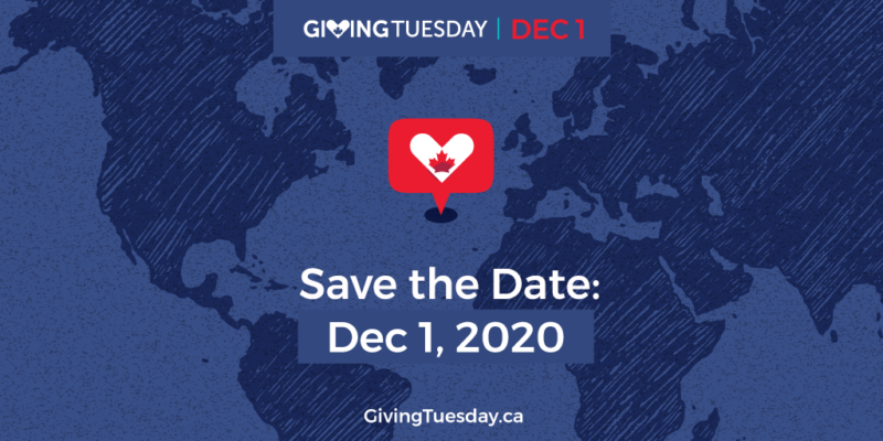 Save the date: December 1st is Giving Tuesday
